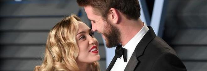 Miley Cyrus e Liam Hemsworth sposi: su Instagram lei lo annuncia così