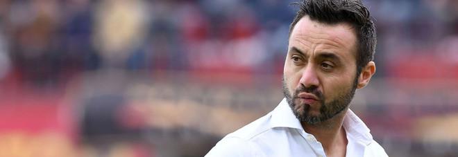 De Zerbi lancia il nuovo Benevento Vigorito sold out, 18mila sugli spalti