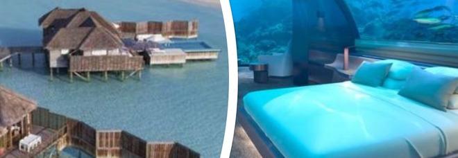 Primo bungalow sottomarino alle Maldive: una notte costa 50mila dollari