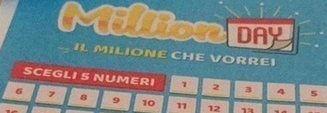 Million Day, i numeri vincenti di lunedì 6 gennaio 2020
