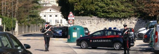 Un controllo dei carabinieri di Montecchio Maggiore