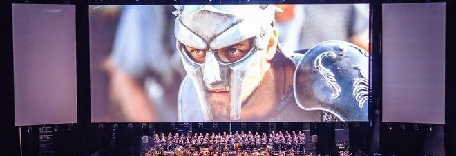 Colosseo, Il Gladiatore torna sull'arena: cine-concerto per Russell Crowe
