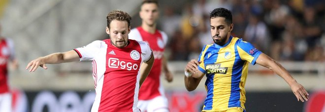 Apoel-Ajax, Blind a sinistra