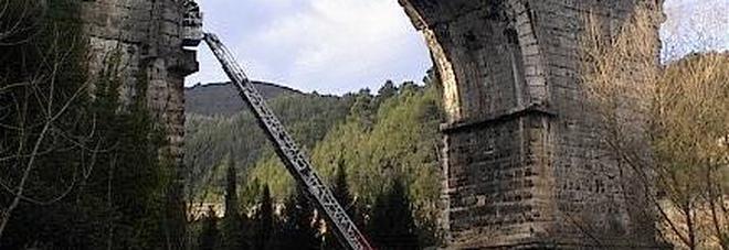 Il Ponte di Augusto: la tragedia s'è consumata a pochi metri di distanza
