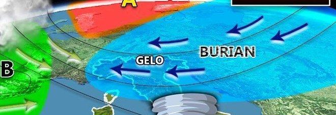 Meteo, torna il gelo di Burian e il maltempo: attenzione ai Tornado