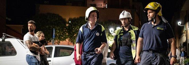 Terremoto: la lunga notte a Colonna, nessuno è rientrato a casa