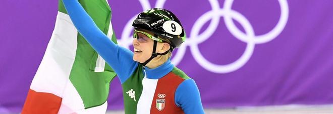 Fontana oro nello short track: per lei sesta medaglia