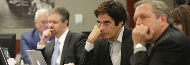 David Copperfield a processo costretto a rivelare al giudice uno dei suoi trucchi più famosi