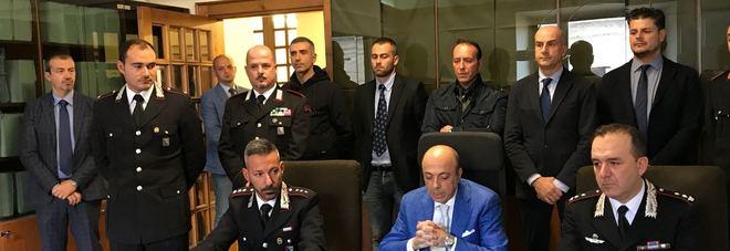 Maxi operazione antidroga Arresti e perquisizioni dei carabinieri in tre regioni