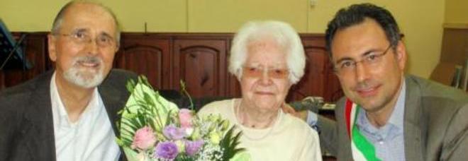 Auguri nonna Luigina!  Compie 104 anni  e svela il suo  sogno proibito