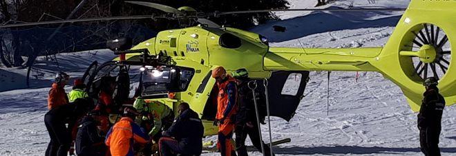 Si accascia in pista mentre scia  giovane di 26 anni salvato dai volontari
