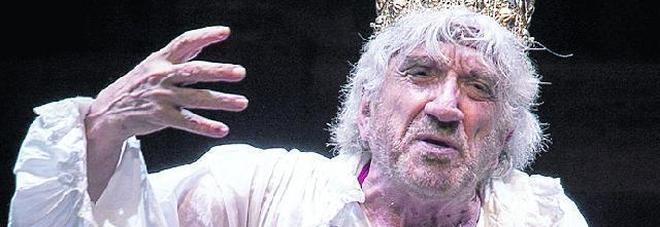 Globe Theatre, imperdibile Gigi Proietti nei panni di Edmund Kean
