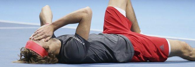 Atp Finals, la prima volta di Zverev: Djokovic si arrende in due set