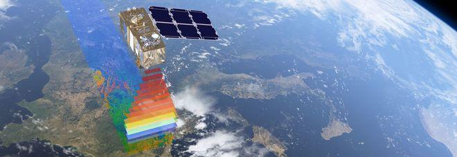 Sentine-2B sopra l'Italia (Credit Esa)
