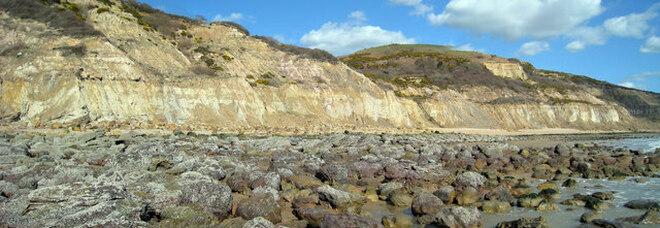 La costa di Fairlight Glen