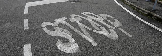 Lo Stop della vergogna  in via Levi a Vigodarzere