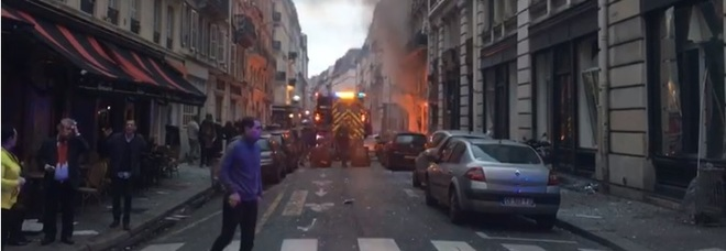 Esplosione Parigi, la testimonianza a Leggo di un'italiana: «Ho sentito un boato, pensavo fossero i gilet gialli»