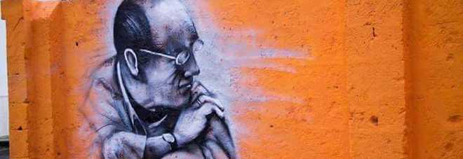"""Indimenticato Minervini, ecco il murale dedicato al papà di """"Bollenti spiriti"""""""