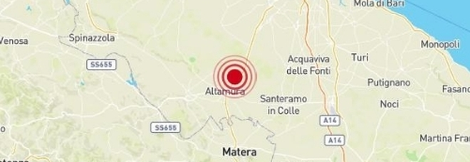 Terremoto di 3.5 nel Barese: paura e gente in strada a Matera, Lecce e Taranto