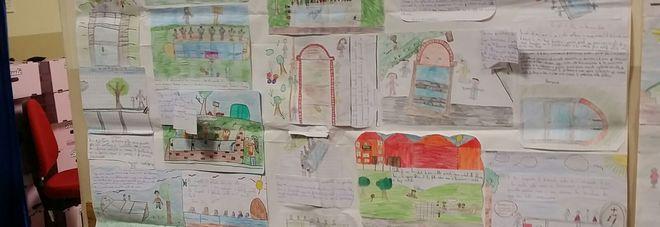 Alcuni disegni dei bambini