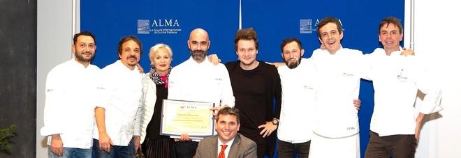 Miglior chef del Corso superiore: Francesco Pettorossi si prende l'Alma