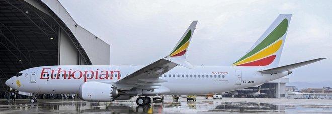 Un Boeing 737 della Ethiopian Airlines