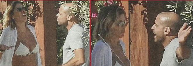 """Aida Yespica, lite col fidanzato Matteo Cavalli in vacanza: """"Lei non vuole prendere il traghetto, lui affitta l'elicottero»"""
