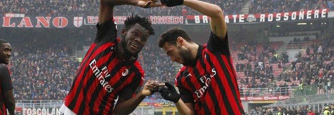Milan-Parma 2-1: Cutrone più Kessie, Gattuso va