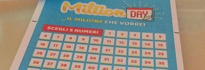 Million Day, estrazione di mercoledì 14 agosto 2019: i numeri vincenti