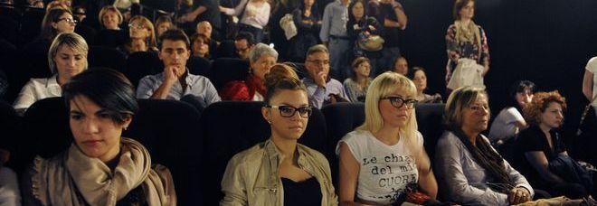 Il pubblico de Il Giovane favoloso  (foto Calavita)