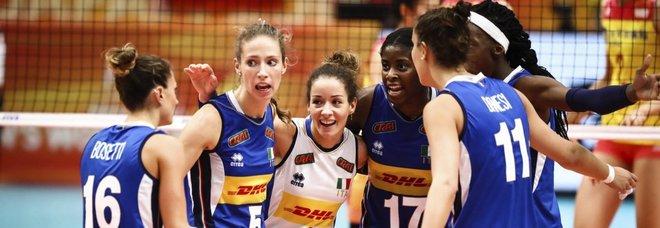 Volleyball Nations League, ecco le convocate di Mazzanti