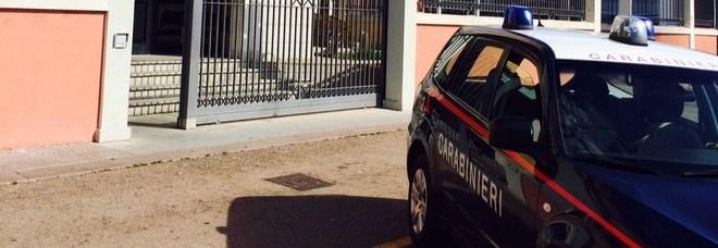 La caserma dei carabinieri di Olbia in Sardegna