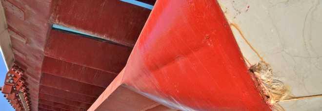 Calatrava, il tecnico comunale: «Ma quali crepe? Si tratta solo di sporco»