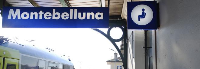 la stazione di Montebelluna