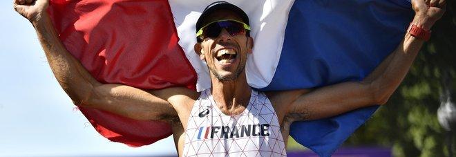 Mondiali, il francese Diniz vince  la 50 km di marcia: De Luca è nono