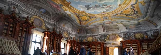 La biblioteca antica del Santo