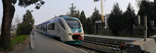 Il treno Minuetto nella linea Vicenza-Schio