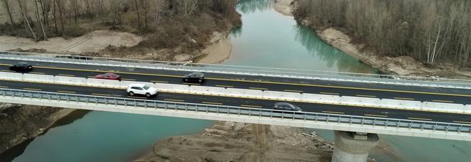 Il nuovo viadotto sul Tagliamento