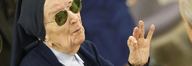 Suor Andrè festeggia 116 anni, è la donna più anziana d'Europa: «Felice perché prego»