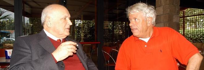 Cibotto (a sinistra) con Lino Toffolo