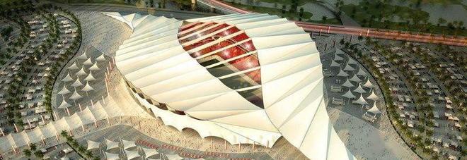 Lo stadio che sta progettando la Cimolai per i mondiali in Qatar