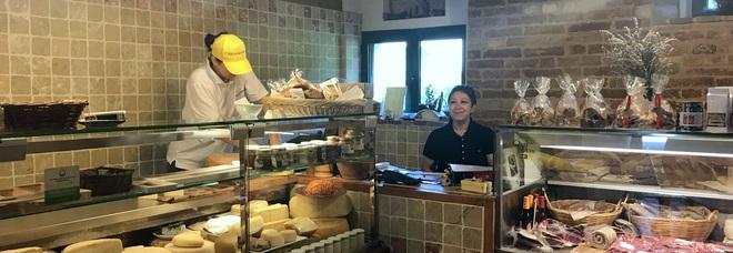 Fontegranne a Belmonte Piceno, dove formaggi e caci sono come figli
