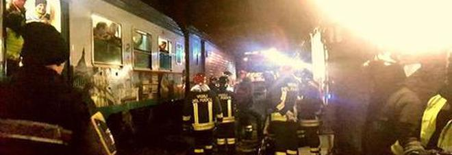 Anziano trovato morto nel bagno dell'Eurocity Nizza-Milano: è giallo