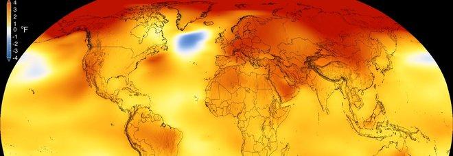 Allarme clima: il 2018 l'anno più caldo di sempre in Europa, il quarto nel mondo