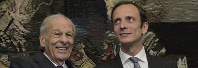 Nella foto Ettore Romoli a sx con il governatore Fedriga