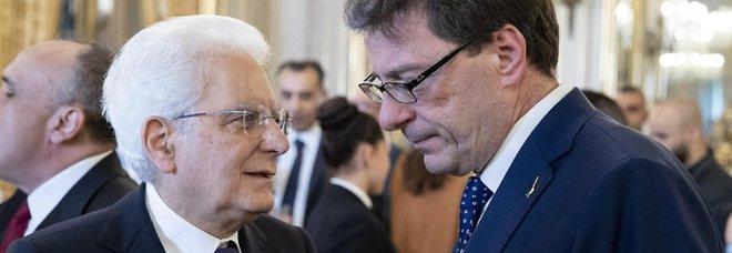 Ue, Giorgetti rinuncia a candidarsi commissario: colloquio con Mattarella