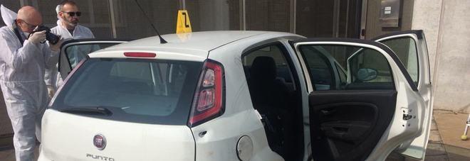 Le indagini sulla Fiat Punto di oggi a Montecchio