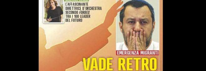 Migranti, attacco frontale di Famiglia Cristiana: «Vade retro Salvini»