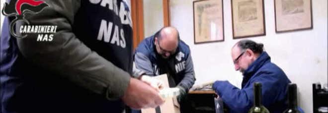 Falsi vini Dop e Igp, maxi sequestro dei Nas nella cantina di Rauscedo