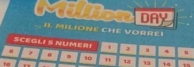 Million Day, numeri vincenti estrazione di sabato 3 agosto 2019